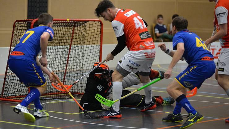 Unihockey Deitingen will in der ersten Liga ein Zeichen setzen.