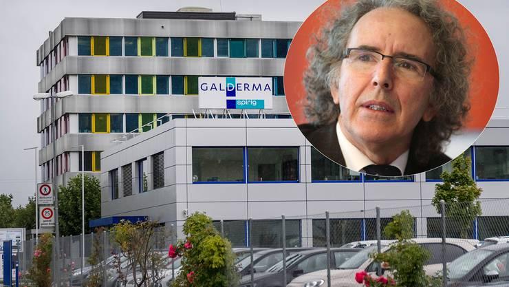 Die Produktion der Galderma Spirig wird nach Frankreich und Kanada ausgelagert. Christian Pflugshaupt war langjähriger CEO der Spirig Pharma.