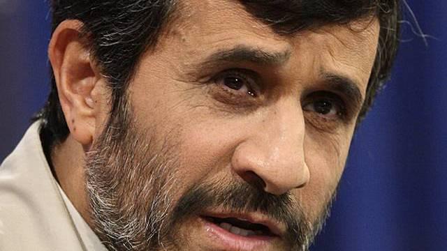 Irans Präsident Ahmadinedschad (Archiv)
