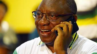 Der neue Chef des ANC Cyril Ramaphosa soll Südafrika wieder auf die Erfolgsbahn führen. (Archivbild)