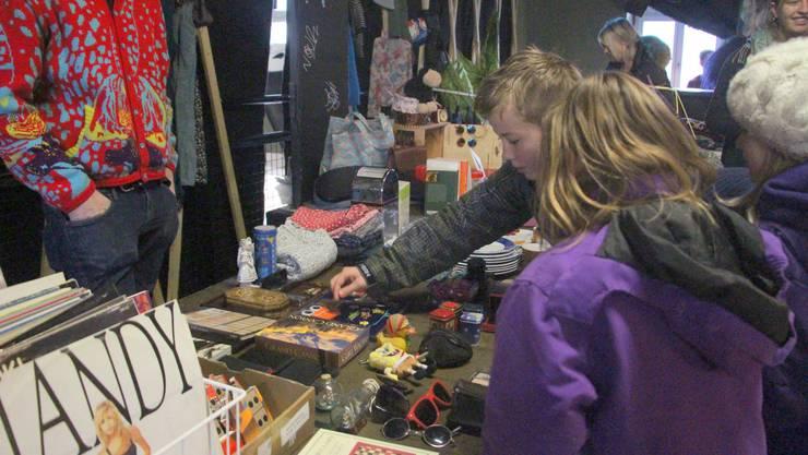 Im Jugend- und Kulturzentrum Tommasini war Flohmarkt