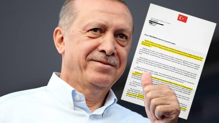 Woher Hat Die Akp Meine Adresse So Kämpft Erdogan Um Die Stimmen