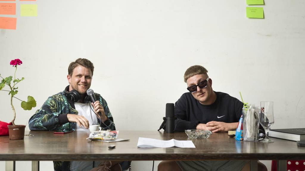 Zwei Rapper plaudern im «Pottcast» über Musik und Kulinarik