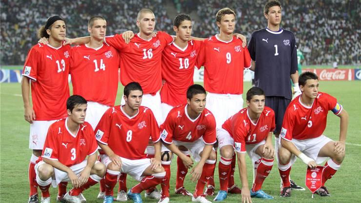 Weltmeisterlich: Die Schweiz (mit Oliver Buff, 8) bezwingt 2009 in Lagos Nigeria im Final 1:0.