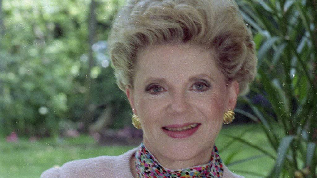 Starb mit 91 Jahren in Los Angeles: Bestseller-Autorin Judith Krantz («Prinzessin Daisy»). (Archivbild)