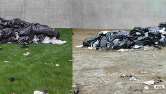 """Kunst in Zeiten sozialer Distanz über Online-Plattformen und Social Media sichtbar  machen: Das Kunstmuseum Bregenz (KUB) dokumentiert mit einer Fotoserie den Verfall der Ausstellung """"Kind Kingdom"""" der amerikanischen Künstlerin Bunny Rogers."""