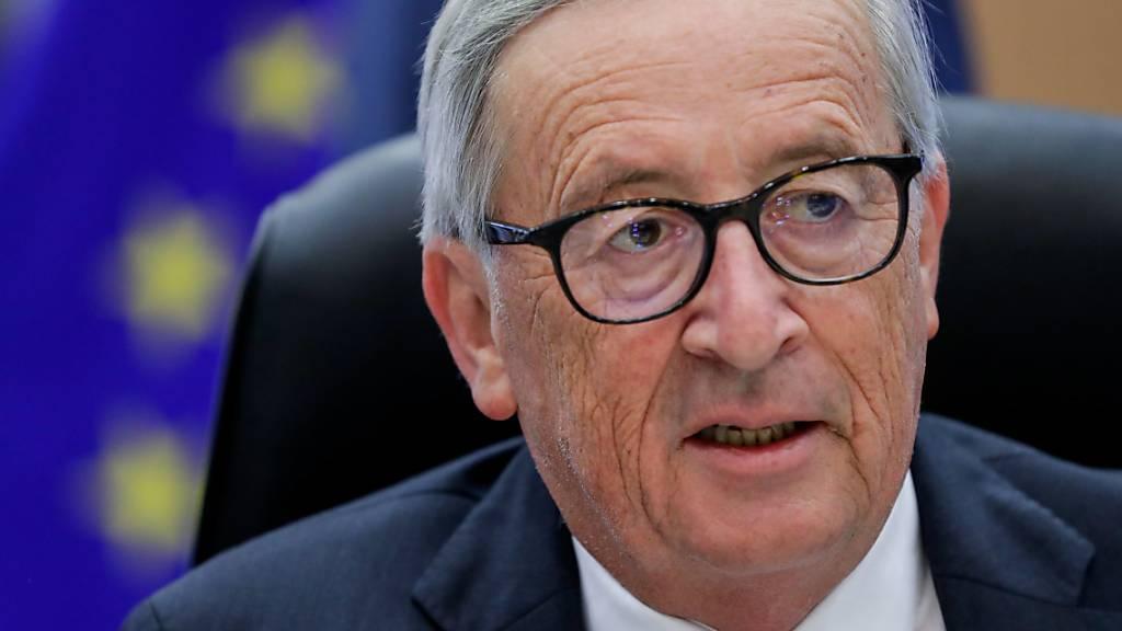 Juncker übt scharfe Kritik an Impfgegnern
