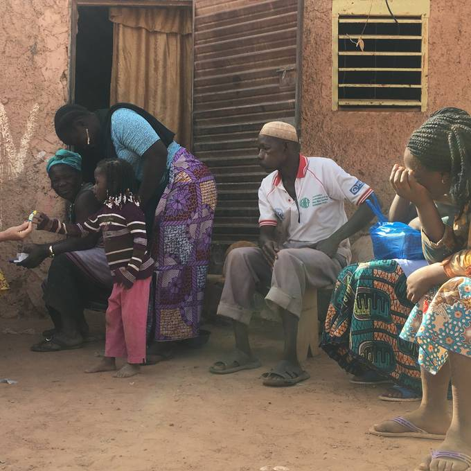 Beas Aufgabe in Burkina Faso
