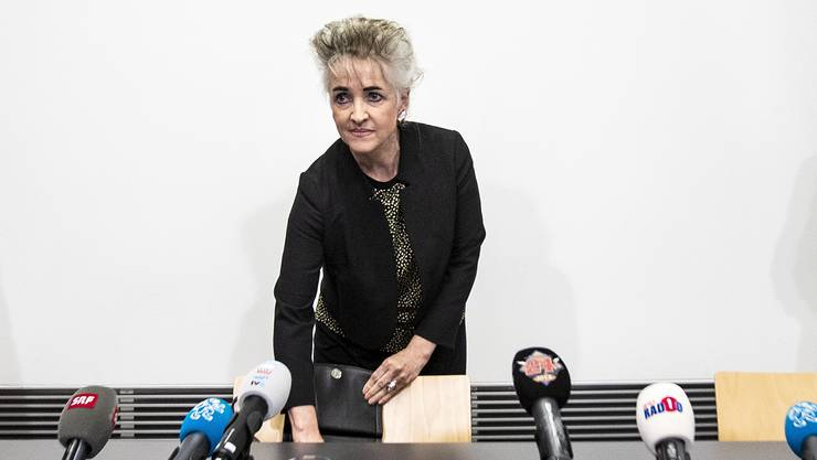 Volkswirtschaftsdirektorin Carmen Walker Späh (FDP),