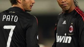 Pato und Ronaldinho
