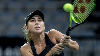 Belinda Bencic verliert den Final in Luxemburg in zwei Sätzen. (Archiv)