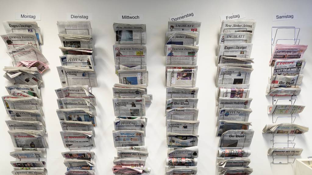 Der Ständerat erachtet die heutige Verfassungsgrundlage für die Medienförderung als nicht mehr zeitgemäss. (Symbolbild)