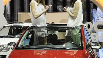 Die Veranstalter vom Automobilsalon sind zufrieden