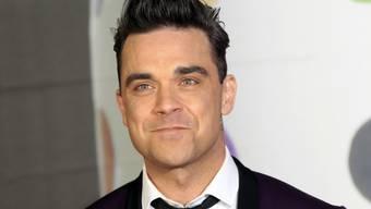 Robbie Williams würde mit Tochter Teddy Drogen nehmen (Archiv)