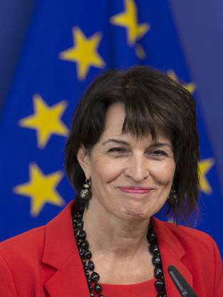 Hat gut lachen: Die Bundespräsidentin.