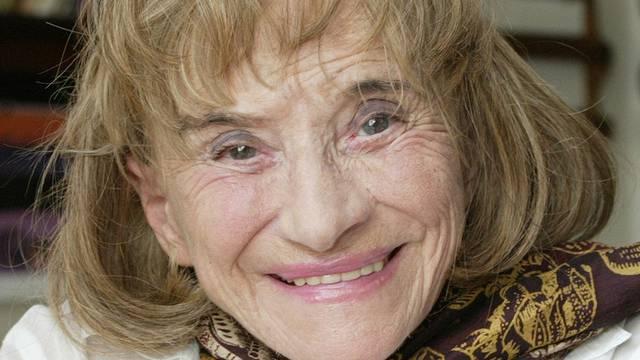Trudi Gerster hat so manchem Kind Märchen erzählt (Archiv)
