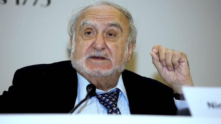 Nicolas G. Hayek (1928–2010), Mitbegründer der Swatch Group, steckte sein Vermögen in die damals darbende Uhrenindustrie.