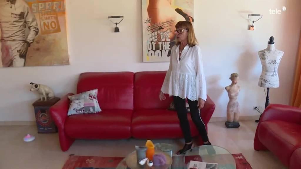"""Diana (67) zeigt """"ihres Dihei"""""""
