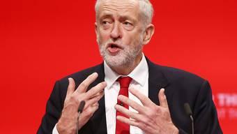 Jeremy Corbyn, der Vorsitzende der britischen Labour-Partei.
