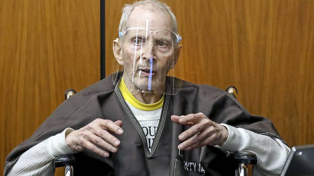 US-Millionär Durst wegen Mords zu lebenslanger Haftstrafe verurteilt