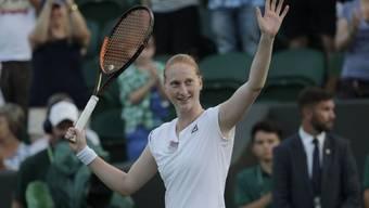 Nachdem die Belgierin Alison van Uytvanck in Wimbledon die Favoritin Garbine Muguruza geschlagen hatte, war sie am Donnerstag so gut drauf, dass sie gegenüber Reportern ihr Coming-Out gab.