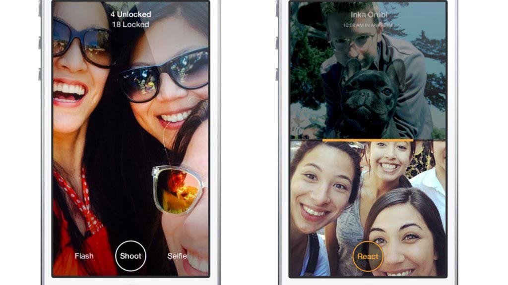 """Die """"Slingshot""""-App von Facebook wird aufgegeben - neben zwei anderen Anwendungen."""