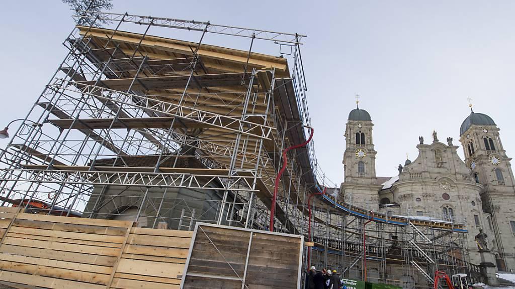 Neuer Infopavillon soll «Fenster» ins Kloster öffnen