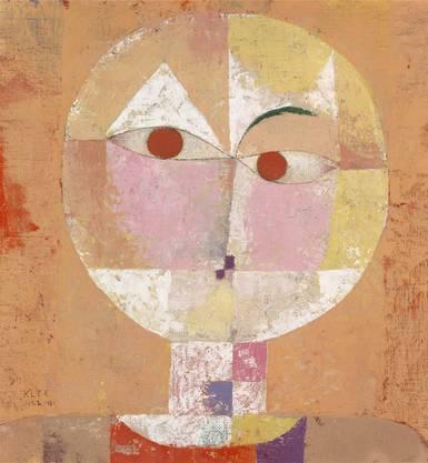 Ein Highlight in der Sammlung des 20. Jahrhunderts: Paul Klee «Senecio (Baldgreis)» von 1922. Zu finden im 1. Stock des Hauptbaus.