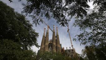Doch keine Hauptstadt-Kathedrale? La Sagrada Familia von Antoni Gaudí in Barcelona (in einer Aufnahme vom Oktober dieses Jahres).