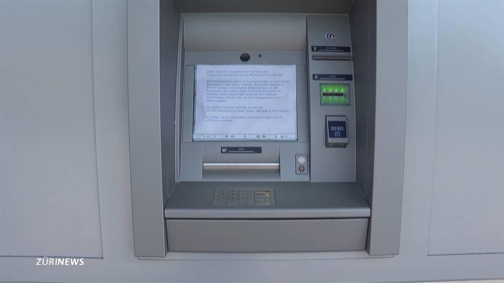Nach Sprengung: Ärger um präventiv geschlossene ZKB-Automaten