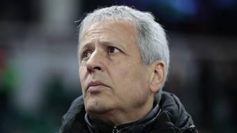 Sorgenfalten bei Lucien Favre: Nice befindet sich derzeit in einem Formtief