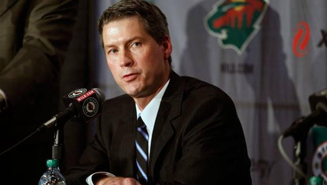 Ist mit Nino Niederreiter zufrieden: Der GM der Minnesota Wild, Chuck Fletcher.