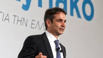 Er ist der neue Chef der griechischen Konservativen: Kyriakos Mitsotakis (in einer Aufnahme vom November 2015).