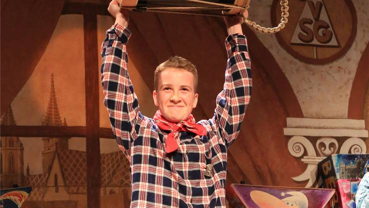 Das gab es noch nie: Maurice Weiss von den Rätz gewann das Trommeln sowohl bei den Jungen als auch bei den Alten. Er ist erst 14 Jahre alt.