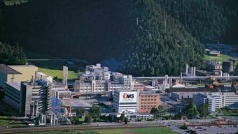 EMS-Produktionsstandort in Domat/Ems im Kanton Graubünden.