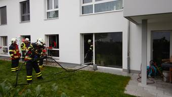 In Schöftland brannte eine Wohnung. Verletzt wurde dabei niemand.