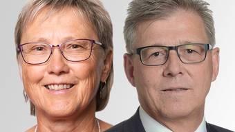 Beim Kindes- und Erwachsenenschutzdienst (KESD) gleicher Meinung: Mirjam Aebischer (SP) und Philipp Umbricht (FDP).