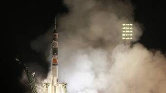 Pünktlicher Start in Baikonur