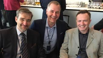 Olaf Eichstaedt, Valerij Stepanov und Gerhard T. Meier