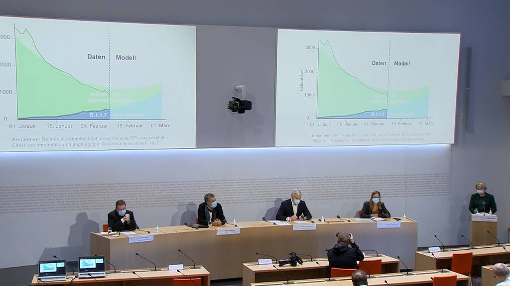 Brasilianische Virusmutation, rückläufige Fallzahlen und 413'000 verabreichte Impfdosen