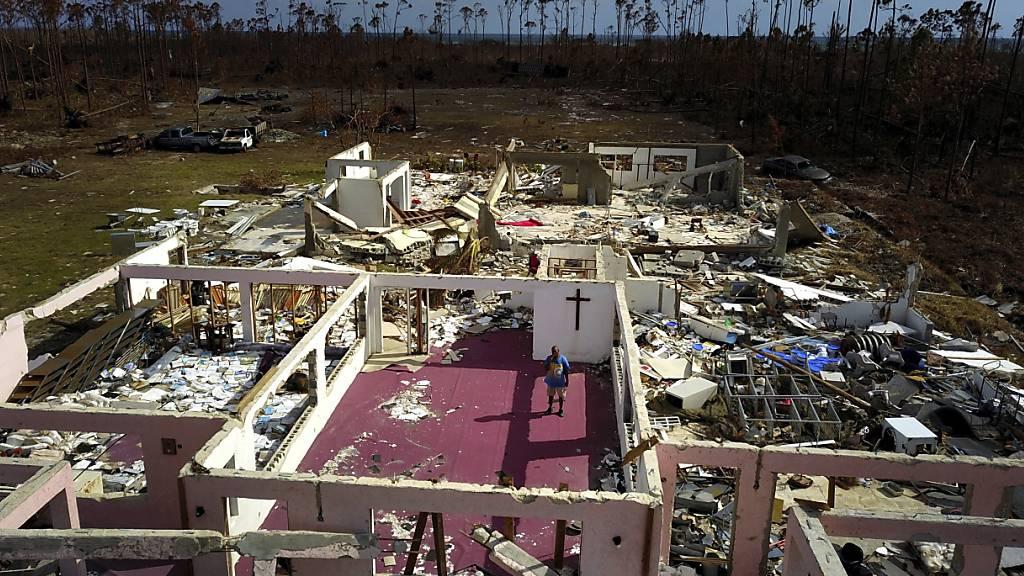 """Der Hurrikan """"Dorian"""" hat auf den Bahamas verheerende Schäden angerichtet. (Archivbild)"""