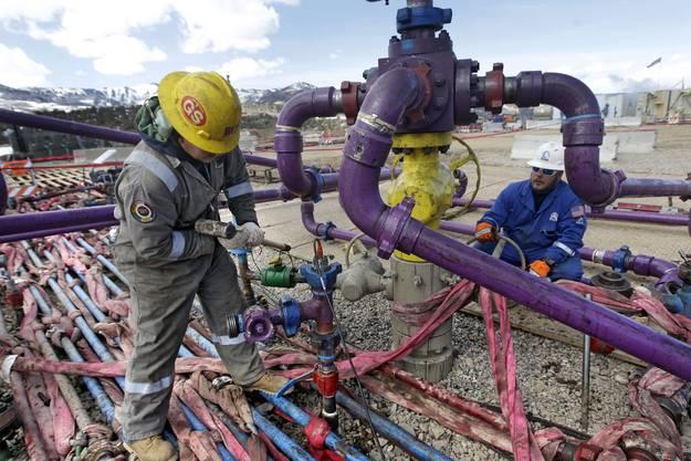Fracking-Einrichtung in Colorado, USA