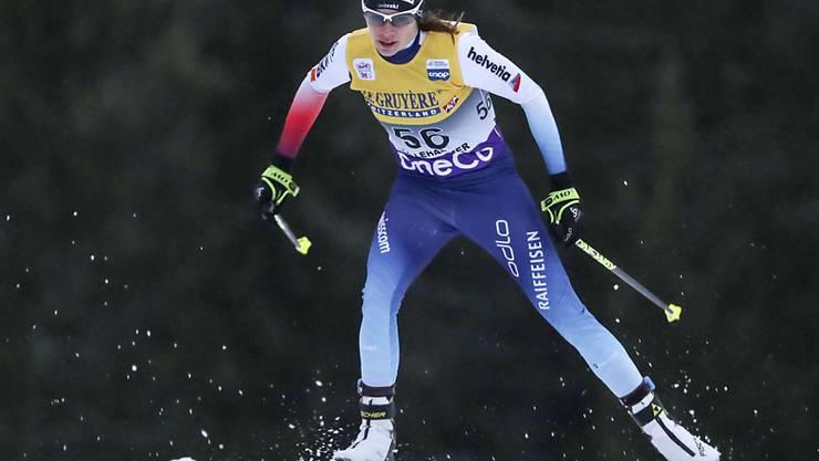 Gute Leistung über 10 km Skating in Lillehammer: Nathalie von Siebenthal