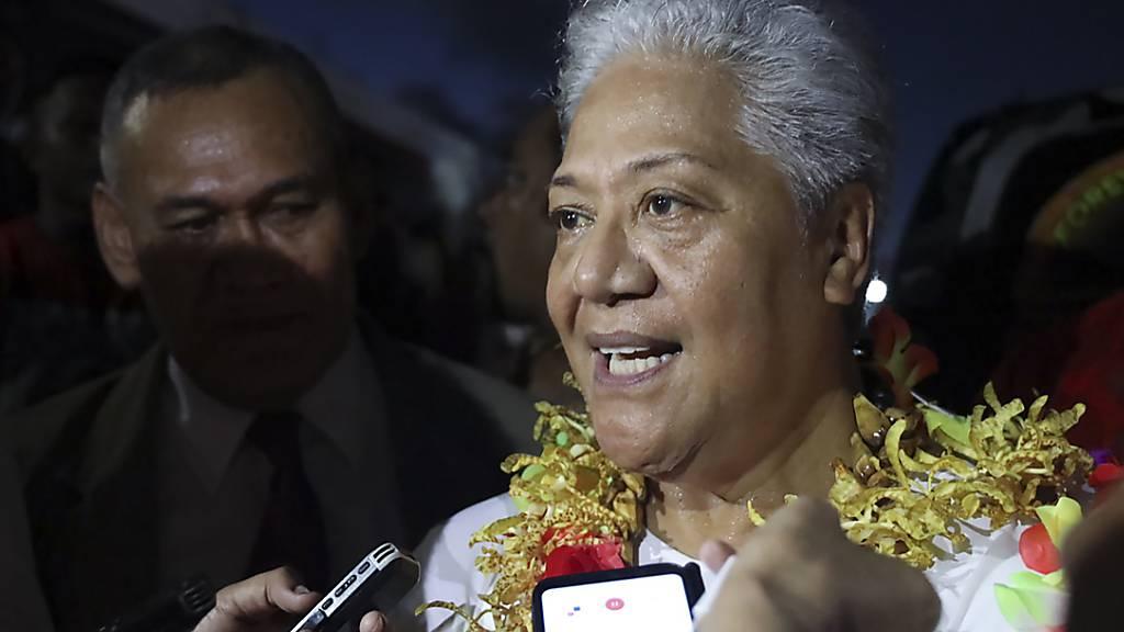 Zwei Premiers im Paradies: Südsee-Staat Samoa im politischen Chaos