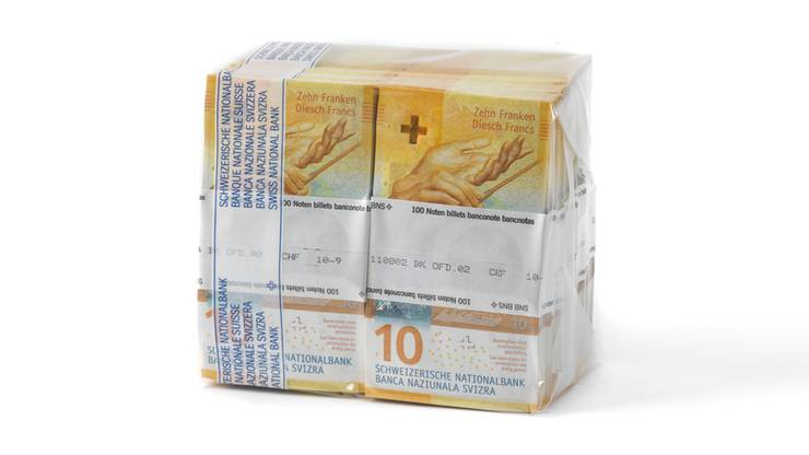 Eine Woche später startet die SNB mit der Ausgabe der neuen Banknote.