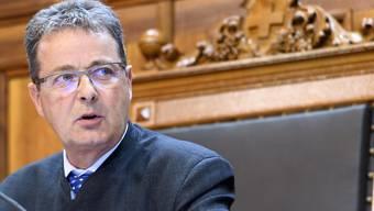 Der Walliser Jean-René Fournier (CVP) ist neuer Ständeratspräsident. (Archivbild)
