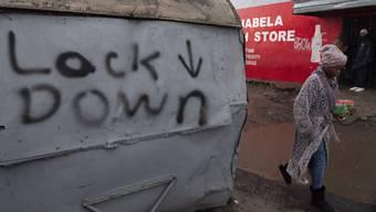 Ein Armenviertel in Kapstadt: Hier breitet sich das Virus ungehindert aus.