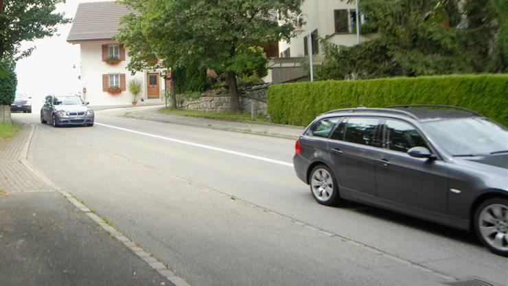 Hertensteinstrasse: Bei einer Kontrolle fuhren 88 Prozent der Autos zu schnell. Archiv