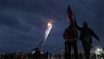 Russische Fans dürfen wohl auch 2018 den russischen Wintersportlern an den Olympischen Spielen zujubeln.