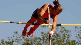 Angelica Moser holt eine von drei Goldmedaillen.
